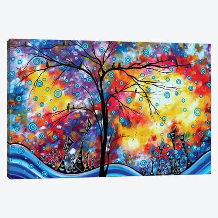 Worlds Away Canvas Print #MDN120} by Megan Duncanson Canvas Print
