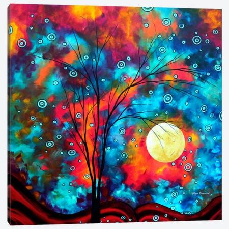 Delightful Canvas Print #MDN12} by Megan Duncanson Canvas Art