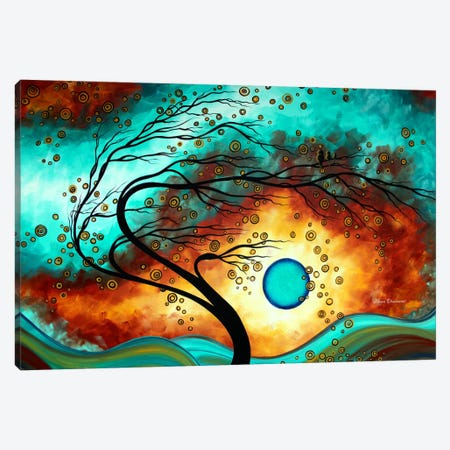 Family Joy Canvas Print #MDN13} by Megan Duncanson Canvas Art