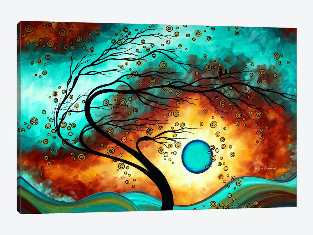 Family Joy by Megan Duncanson 1-piece Canvas Art