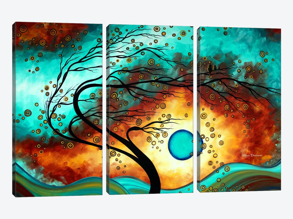 Family Joy by Megan Duncanson 3-piece Canvas Wall Art