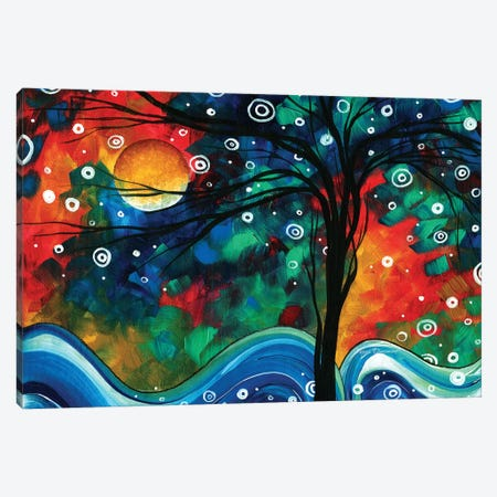 First Snow Fall Canvas Print #MDN15} by Megan Duncanson Art Print
