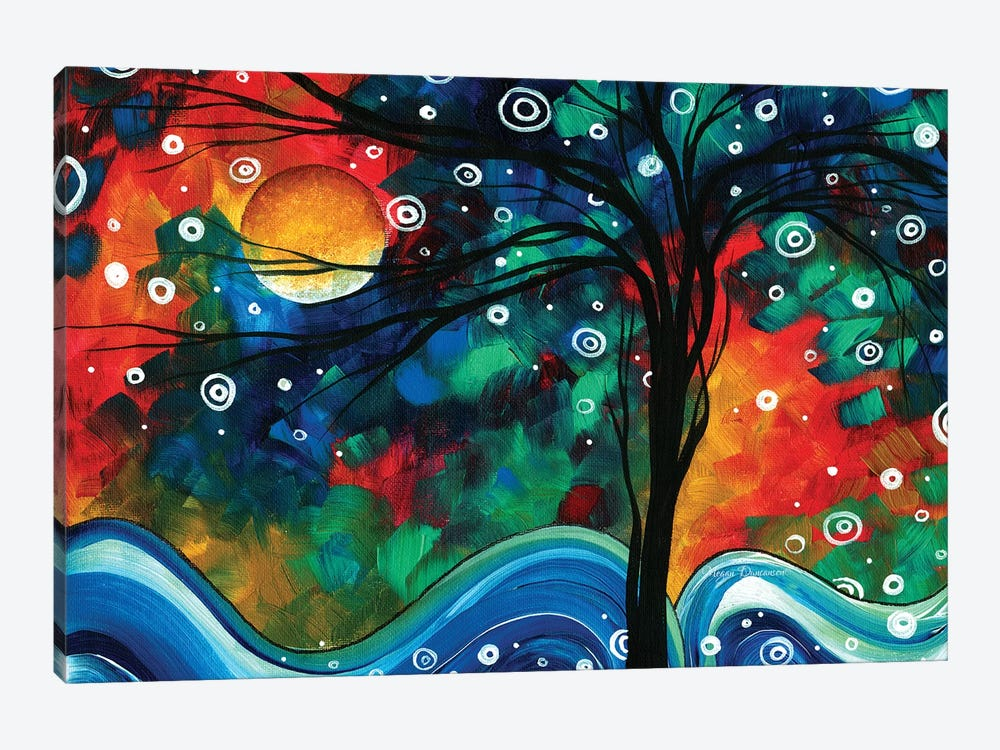 First Snow Fall by Megan Duncanson 1-piece Canvas Wall Art