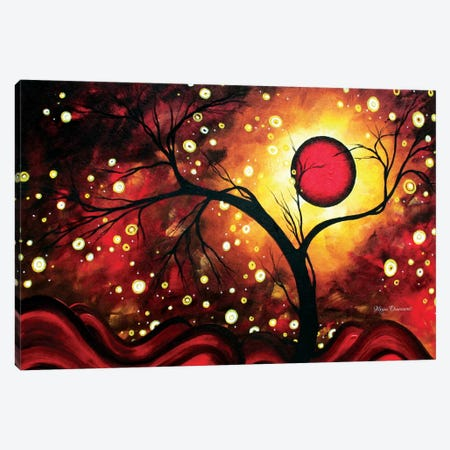 Glowing Orb Canvas Print #MDN17} by Megan Duncanson Canvas Art Print