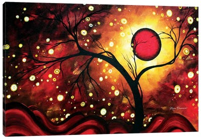 Glowing Orb Canvas Art Print