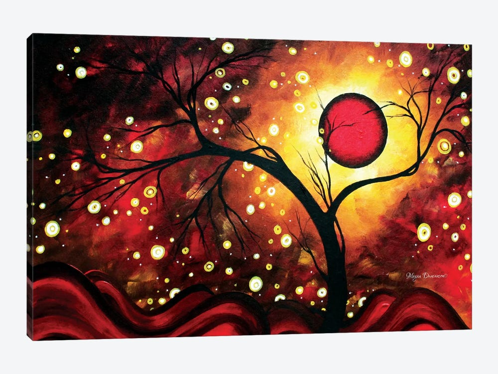 Glowing Orb by Megan Duncanson 1-piece Canvas Artwork