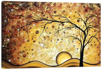 Golden Rhapsody Canvas Art Print
