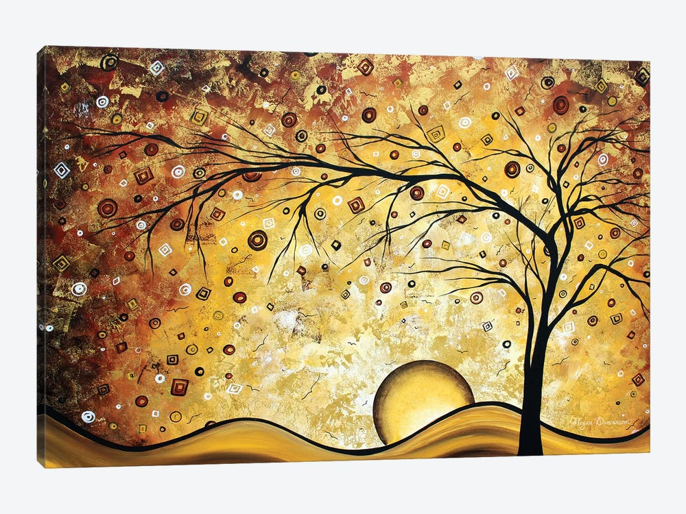 Golden Rhapsody by Megan Duncanson 1-piece Canvas Wall Art