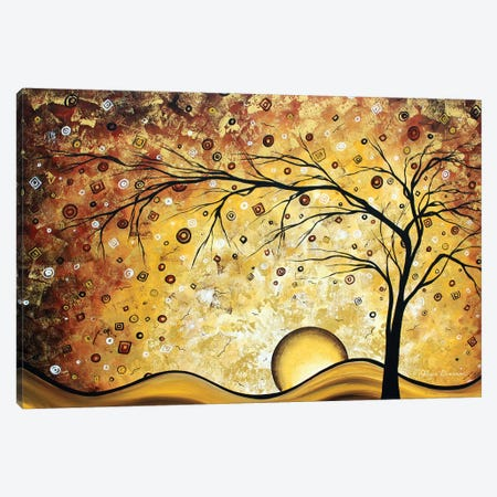 Golden Rhapsody Canvas Print #MDN19} by Megan Duncanson Canvas Artwork