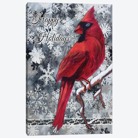 Happy Holidays Canvas Print #MDN22} by Megan Duncanson Canvas Art Print