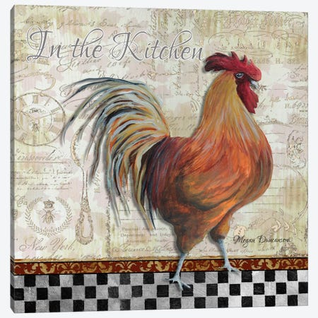 In the Kitchen Canvas Print #MDN23} by Megan Duncanson Canvas Art Print