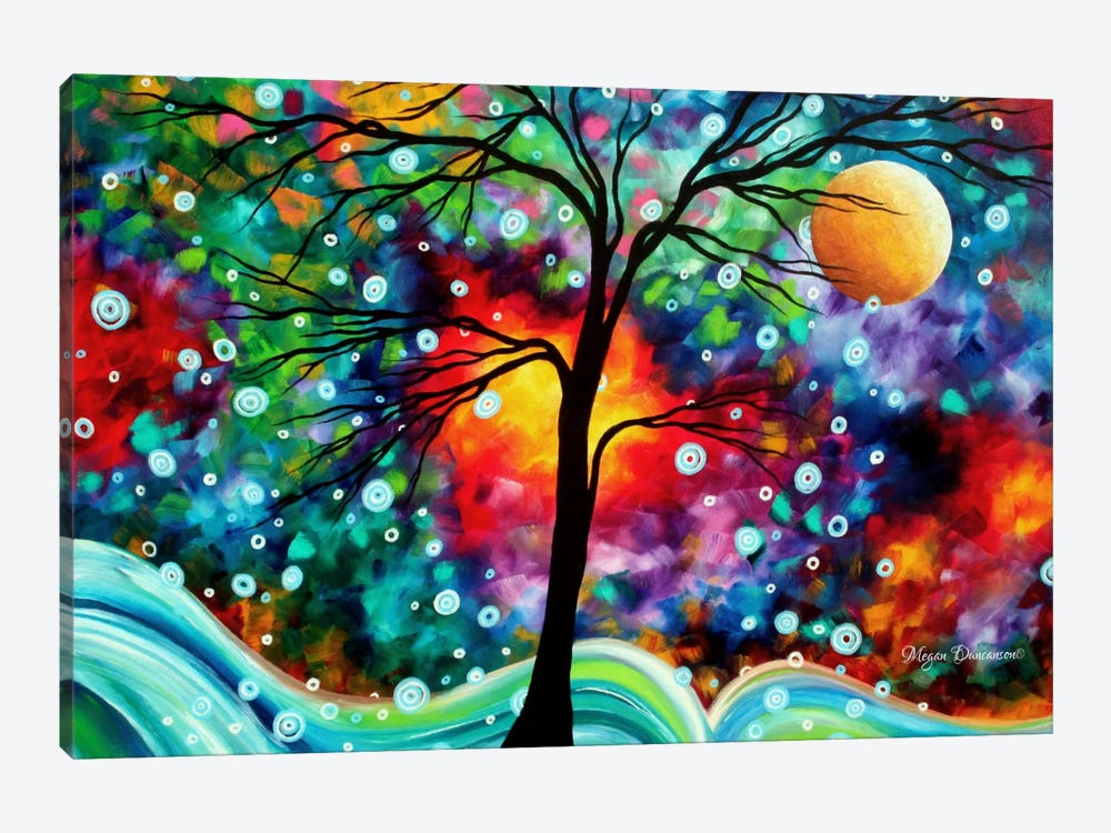 A Moment in Time by Megan Duncanson 1-piece Canvas Art Print