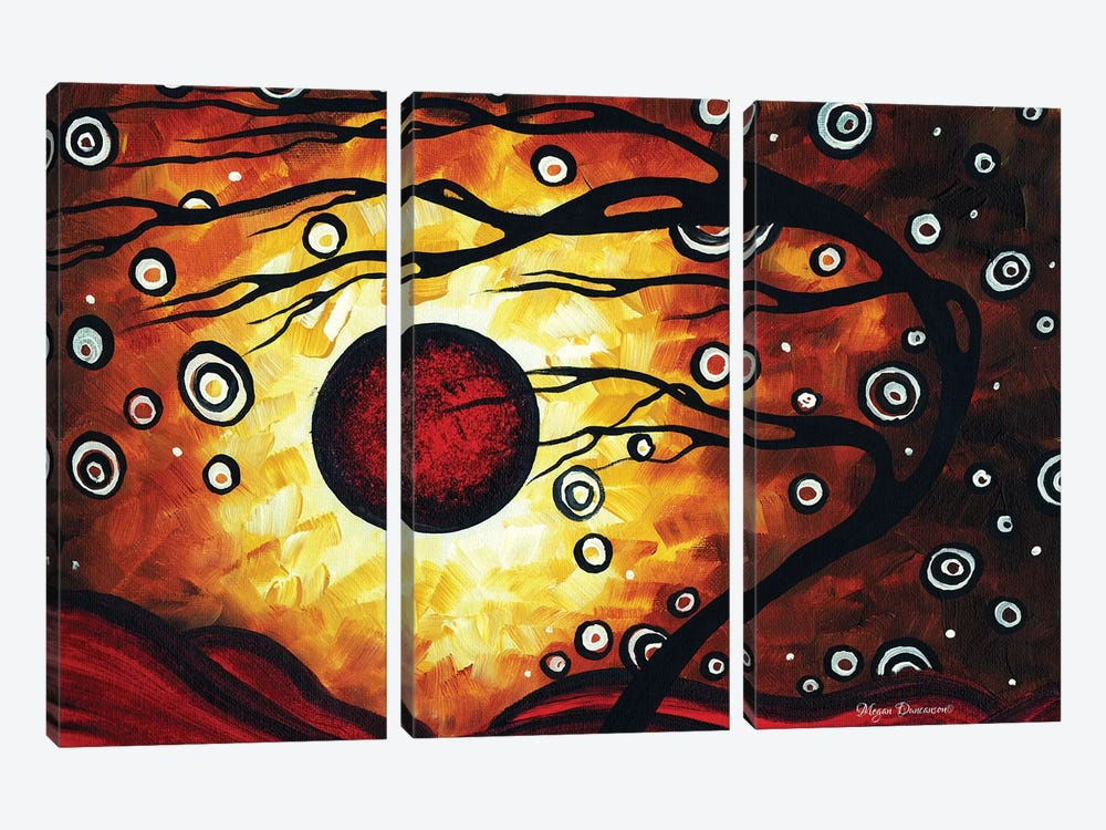 Silent Whispers by Megan Duncanson 3-piece Canvas Wall Art