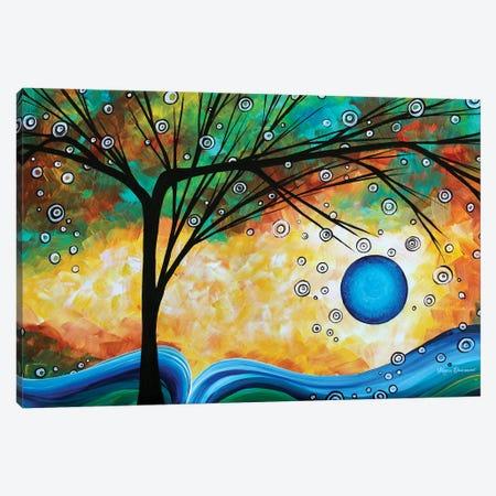 Summer Blooms II Canvas Print #MDN35} by Megan Duncanson Canvas Art Print