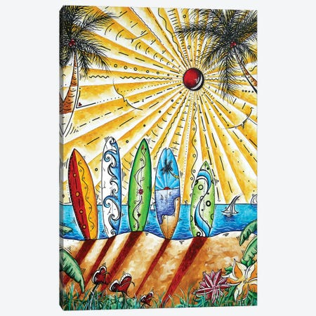 Summer Break Canvas Print #MDN36} by Megan Duncanson Art Print