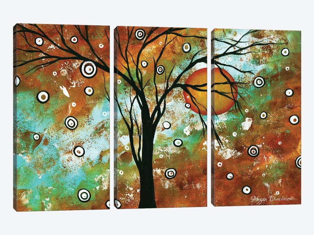 Autumns Eve by Megan Duncanson 3-piece Canvas Art