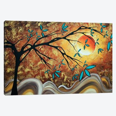 Apricot Moon Canvas Print #MDN43} by Megan Duncanson Canvas Art Print