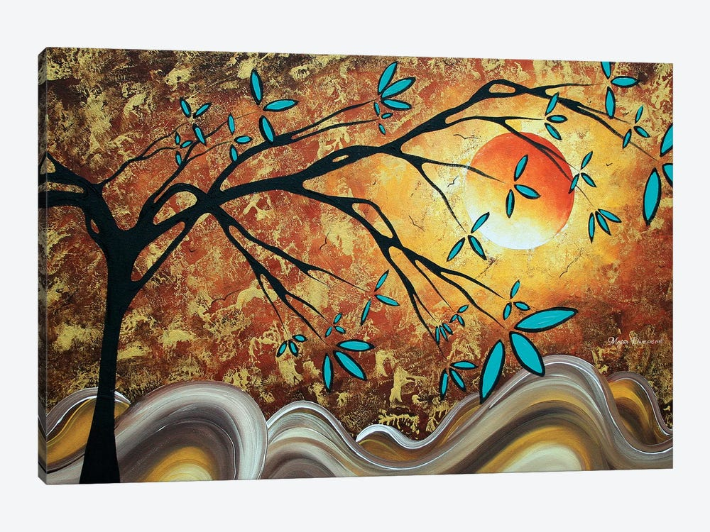 Apricot Moon by Megan Duncanson 1-piece Canvas Print