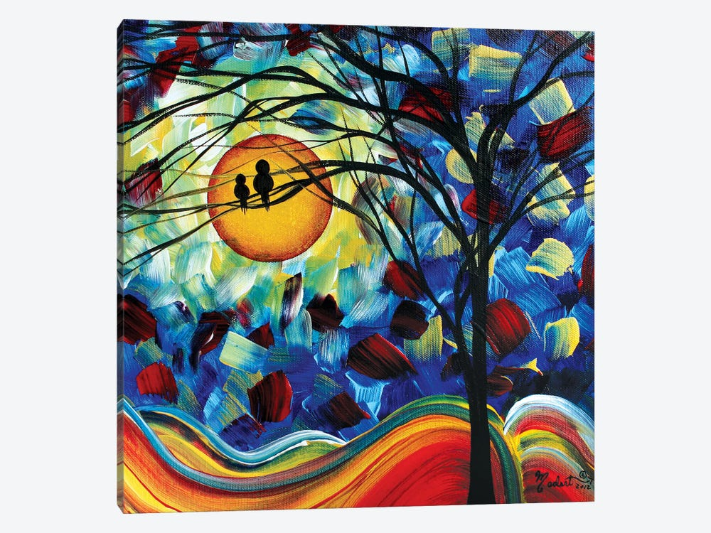 Baby Bird 1-piece Canvas Print