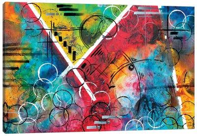 Beauty Amongst The Chaos Canvas Art Print