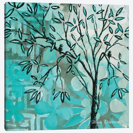 Bird Heaven I Canvas Print #MDN48} by Megan Duncanson Canvas Art Print