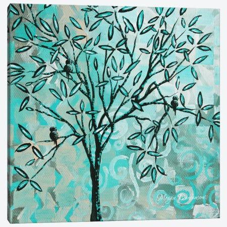 Bird Haven II Canvas Print #MDN49} by Megan Duncanson Art Print