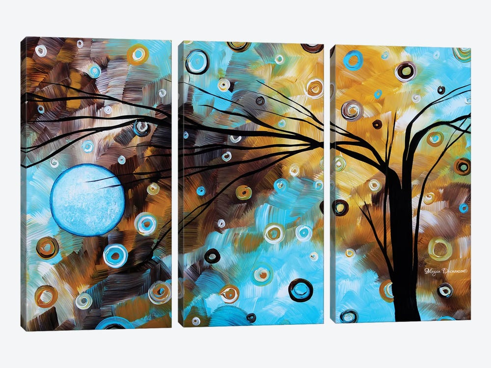 Baby Blues by Megan Duncanson 3-piece Canvas Art Print