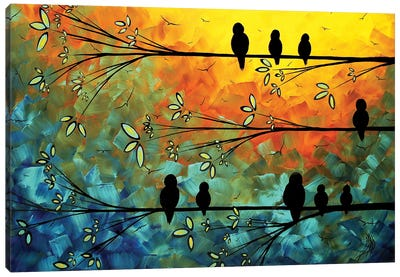 Birds Of A Feather Canvas Art Print