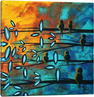 Birds Of Summer Canvas Print #MDN51