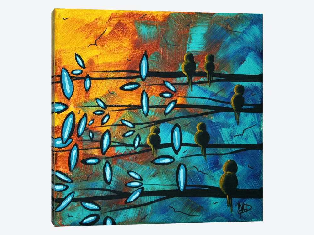 Birds Of Summer by Megan Duncanson 1-piece Canvas Artwork