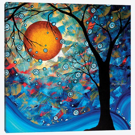Blue Essence Canvas Print #MDN53} by Megan Duncanson Canvas Wall Art