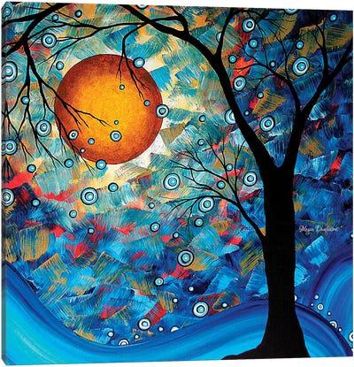 Blue Essence Canvas Print #MDN53