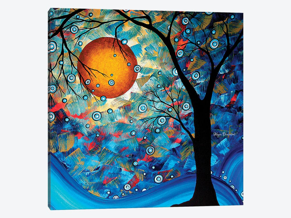 Blue Essence by Megan Duncanson 1-piece Canvas Artwork