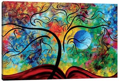 Blue Moon Rising Canvas Art Print