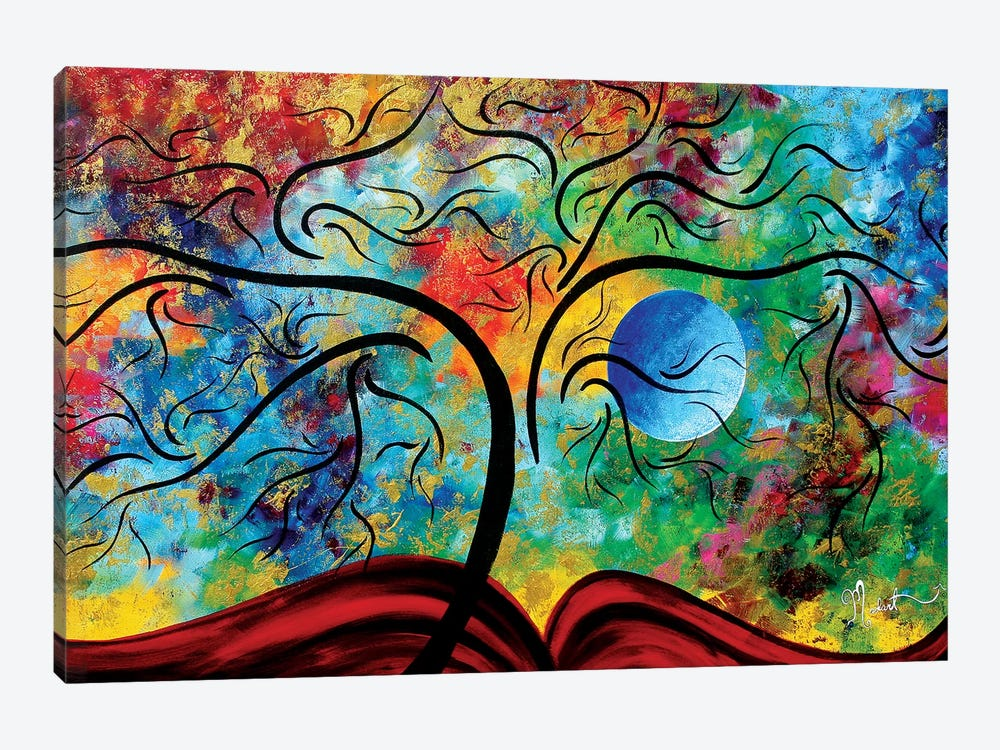 Blue Moon Rising by Megan Duncanson 1-piece Art Print