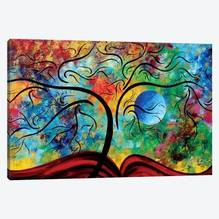 Blue Moon Rising Canvas Print #MDN54} by Megan Duncanson Canvas Print