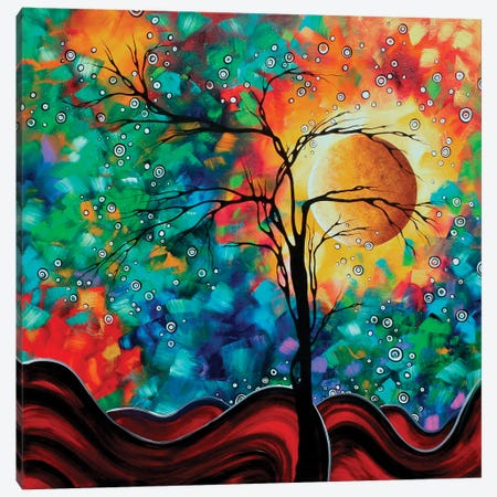 Bursting Forth Canvas Print #MDN58} by Megan Duncanson Canvas Art