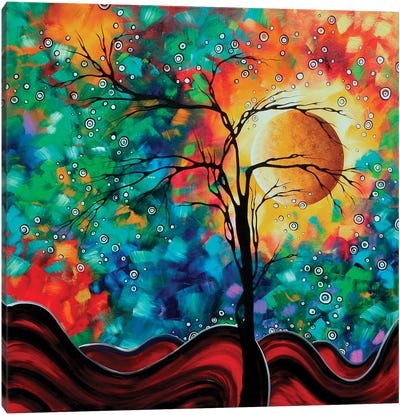 Bursting Forth Canvas Art Print