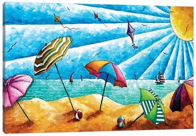 Beach Life I Canvas Art Print