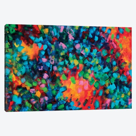Color Blast Canvas Print #MDN62} by Megan Duncanson Canvas Print