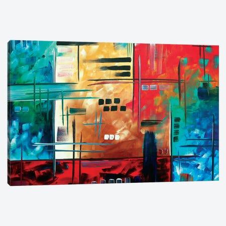 Color Rush Canvas Print #MDN63} by Megan Duncanson Canvas Art Print