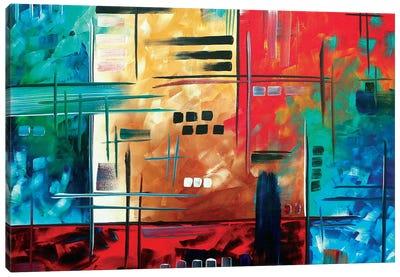Color Rush Canvas Art Print
