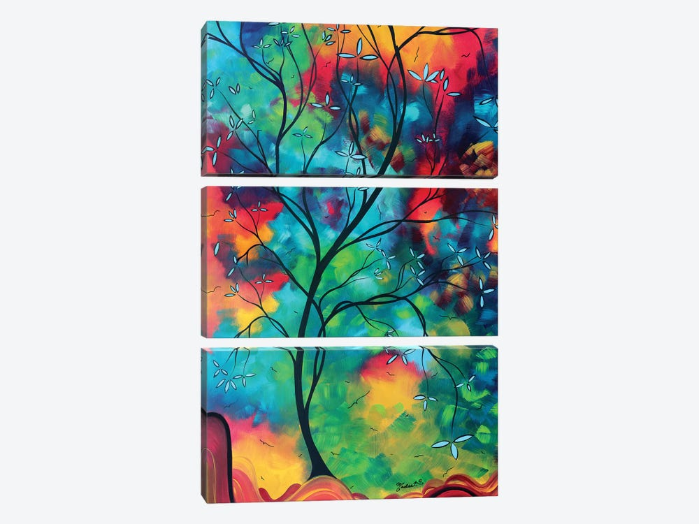 Colored Inspiration 3-piece Canvas Artwork