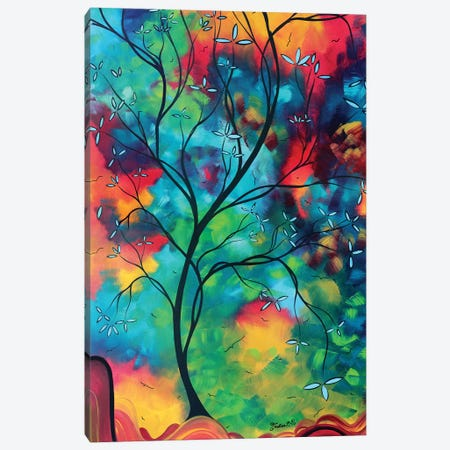 Colored Inspiration Canvas Print #MDN64} by Megan Duncanson Canvas Art
