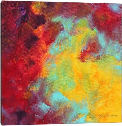 Colors Of Glory I Canvas Art Print