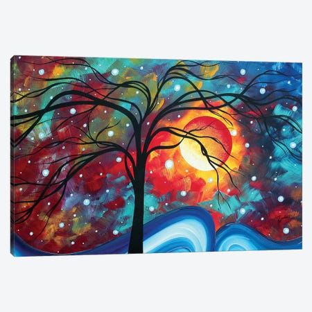 Envision The Beauty Canvas Print #MDN73} by Megan Duncanson Canvas Wall Art
