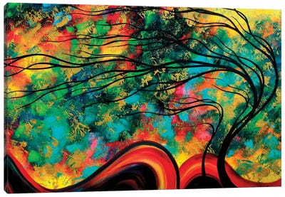Fleeting Glance Canvas Art Print