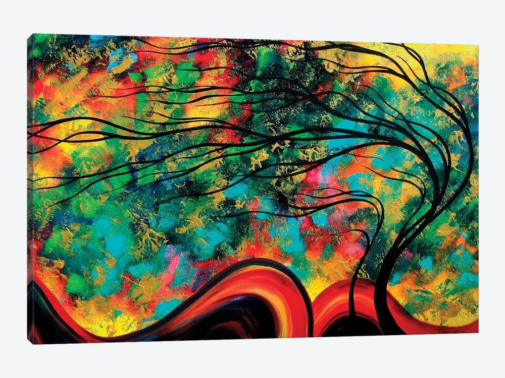 Fleeting Glance by Megan Duncanson 1-piece Canvas Art