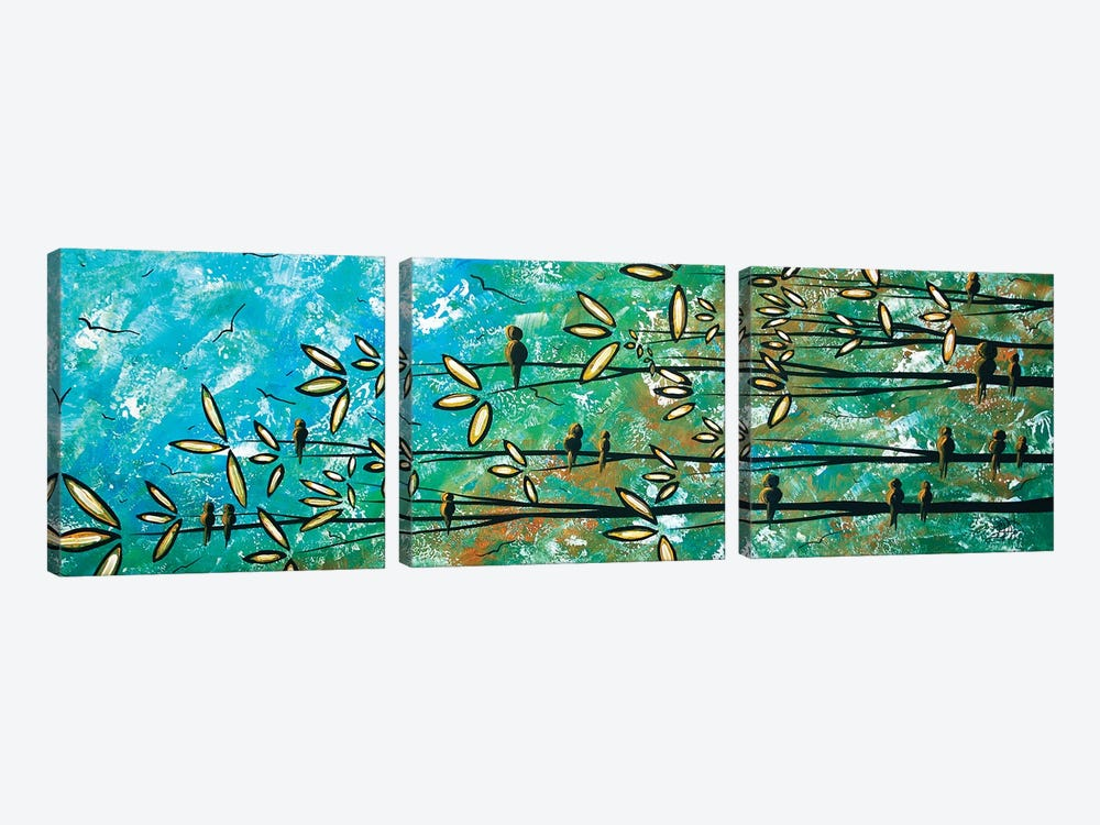 Free As A Bird by Megan Duncanson 3-piece Canvas Wall Art