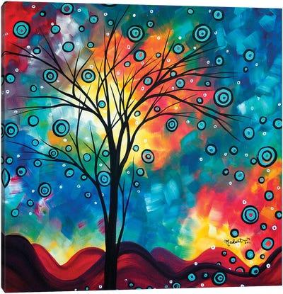 Greeting The Dawn Canvas Art Print